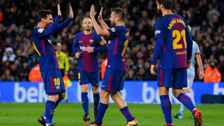 Alba: Puna ekipore është çelësi i suksesit te Barcelona
