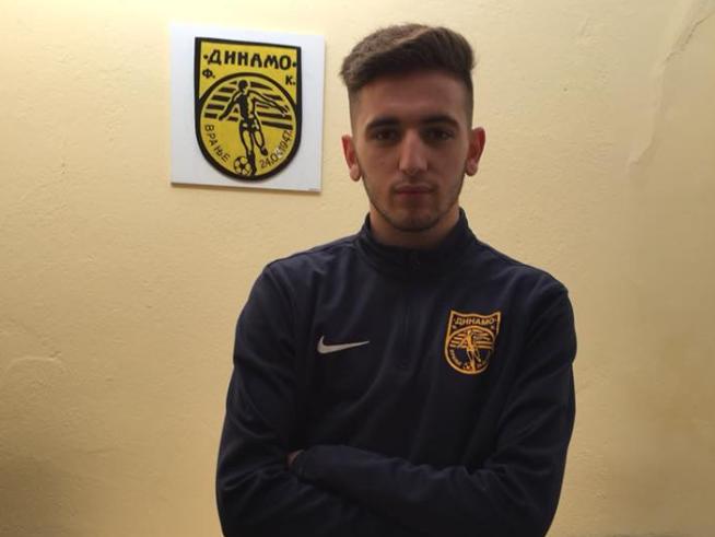 Futbollisti  nga Tërnoci, Dominat Ramadani pjesë e Dinamos nga Vranja