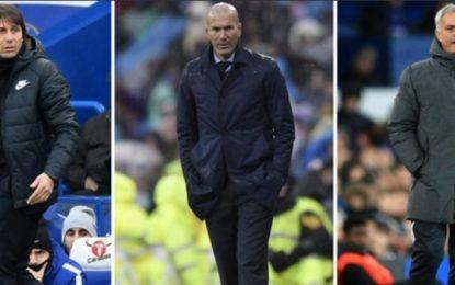 Trajnerët më të përfolur të 12 klubeve të njohura: Kush largohet e kush qëndron në fund të sezonit, këto janë përqindjet (Foto)