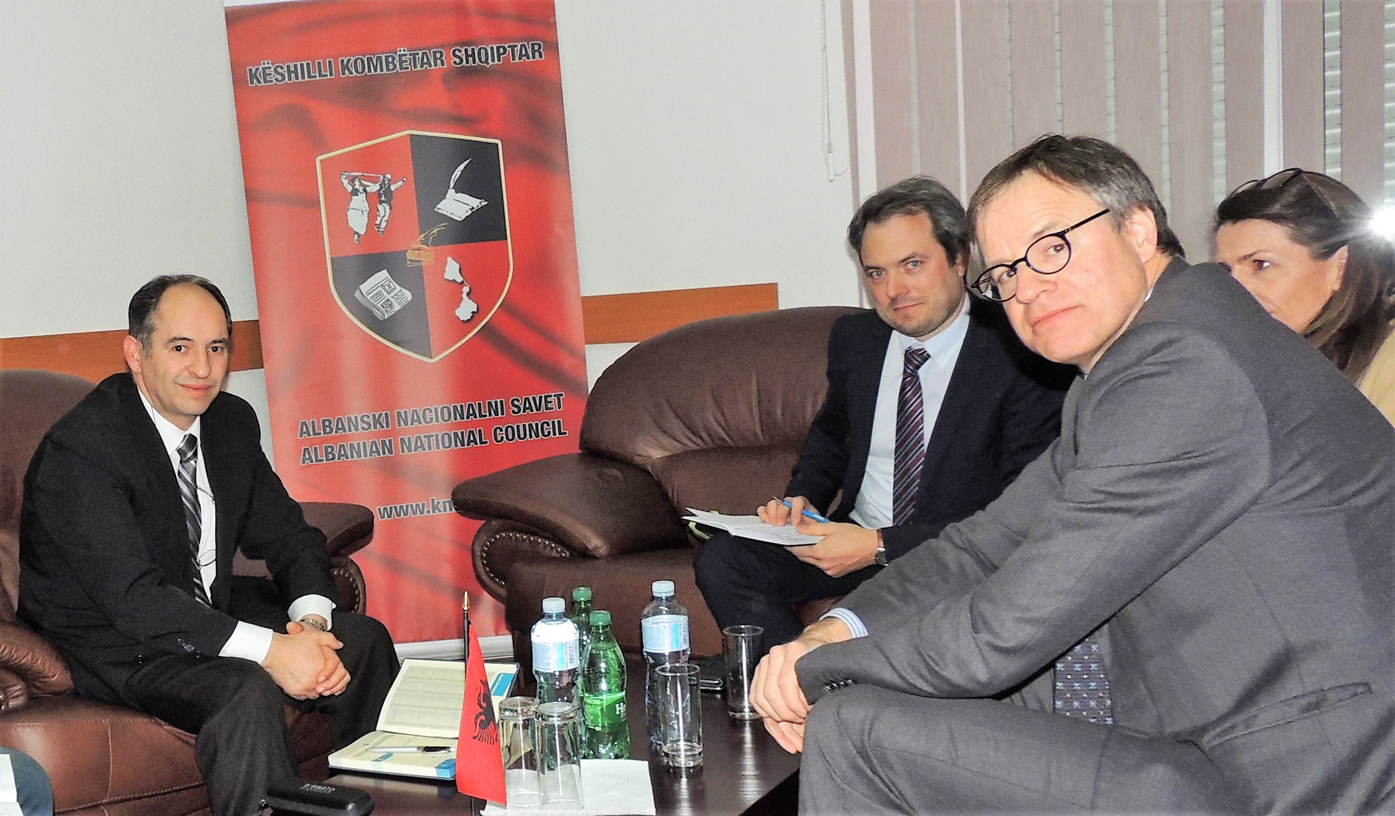 Ambasadori i gjermanisë  vizitoi Këshillin Kombëtar Shqiptar