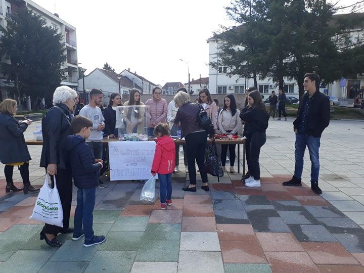 Aksion humanitar për maturantët në Bujanoc