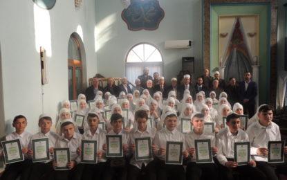 Dua e hatmes në xhaminë e mesme në Tërnoc të Bujanocit