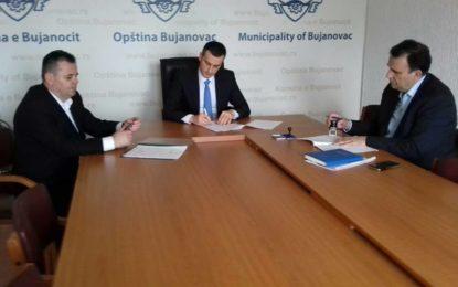 Komuna e Bujanocit nënshkruan disa kontrata për projekte të ndryshme