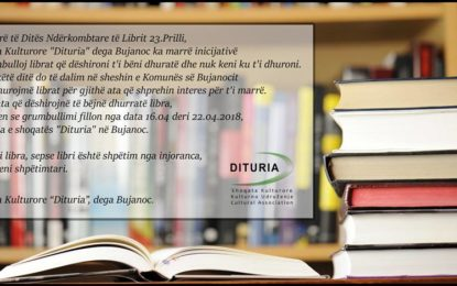 Bujanoc: Dituria me iniciativë për  grumbullimin e librave(video)