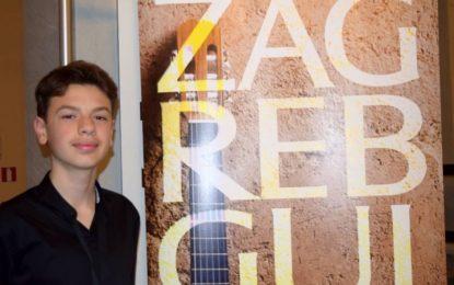 Diar Aliu,  shkëlqeu në Zagreb në Euro String, Europian Guitar Festival Collaborative