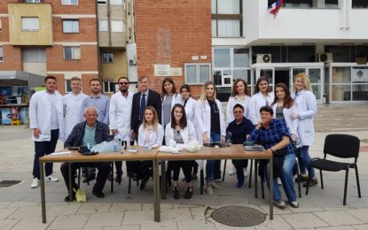 Bujanoc: Shërbime falas për matjen e tensionit dhe sheqerit në gjak