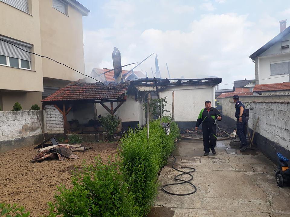 Digjet një shtëpi në Bujanoc(foto&video)