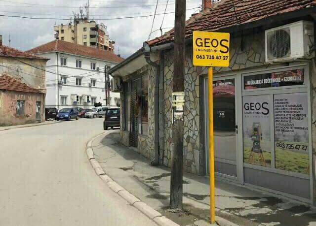 GEOS ENGINEERING në Bujanoc, gjithça rreth gjeodezisë në një vend