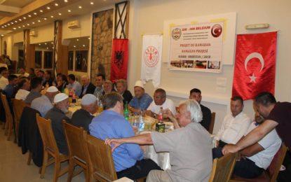 BIPBM,  IHH nga Belgjika dhe ALSAR shtrojnë iftar në Bujanoc