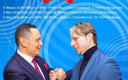 Pajaziti e Arifi takim me bashkëatdhetarët në Zvicër