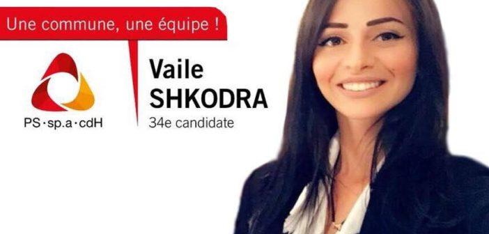 Vaile Shkodra nga Gjilani kandidate për zgjedhjet komunale në Anderlecht të Belgjikes