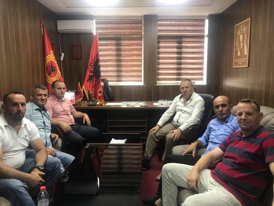 OVL e UÇPMB-së takim vëllezërorë me OVL-në e UÇK-së në Prishtinë