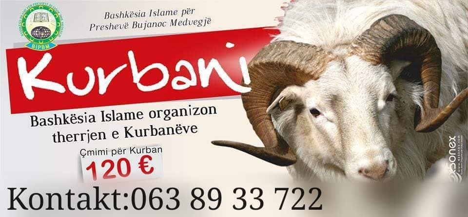 BIPBM edhe këtë vit organizon therjen e Kurbanëve