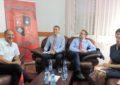 Kryetari Ymeri takohet Shefin e ri të Departamentit për demokratizim të Misionit të OSBE-së në Beograd, John Clayton,