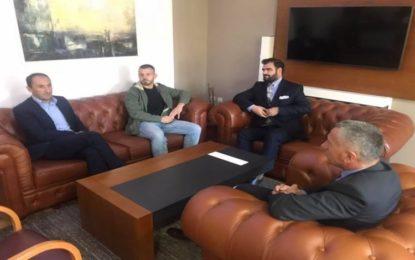 Deputeti Liburn Aliu viziton komunën e Bujanocit, pritet nga kryetari Kamberi