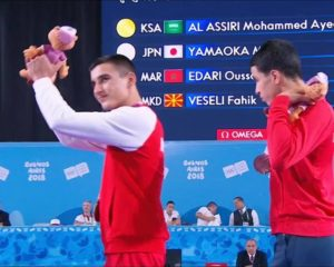 Faik Veseli, shqiptari  nga Shkupi  me medalje në Lojërat Olimpike në Argjentinë