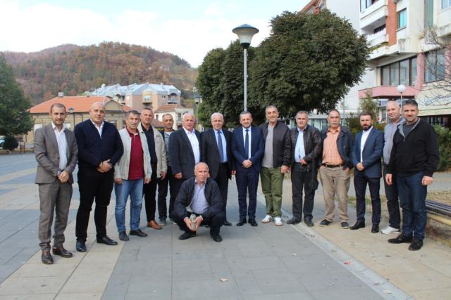 PD viziton komunën e Medvegjës në prag të zgjedhjeve për KKSH