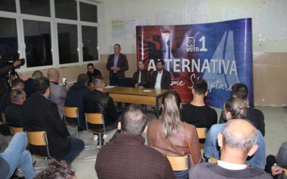 APN shpalosë programin për zgjedhjet e 4 nëntorit në Letovicë