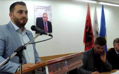 Shqiprim Musliu i biri i Jonuz Musliut  zgjidhet kryetar i LPD-së(video&foto)
