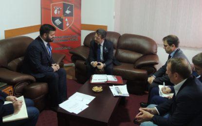 Ambasadori i OSBE-së, Andrea Orizio vizitë Këshillin Kombëtar Shqiptar