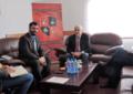 Kryetari i KKSH-së Ragmi Mustafa priti Ambasadorin e Shqiprisë në Beograd, Ilir Boçka