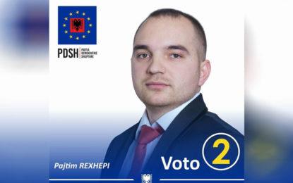 Këshilltari Pajtim Rexhepi largohet nga PDSh, ja arsyja