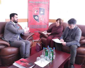 Ragmi Mustafa priti përfaqësuesit Komisionerit të Lartë të OSBE-së për Pakicat Kombëtare me seli në Hagë