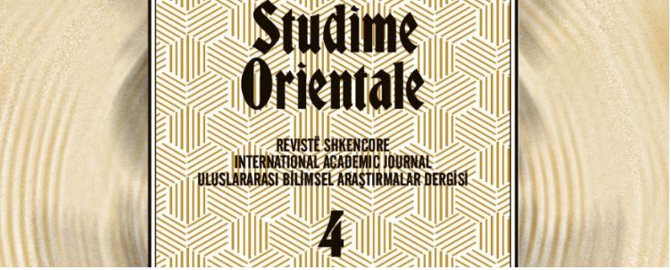 """Më 2 maj promovimi i revistës numër 4 """"Studime Orientale"""""""