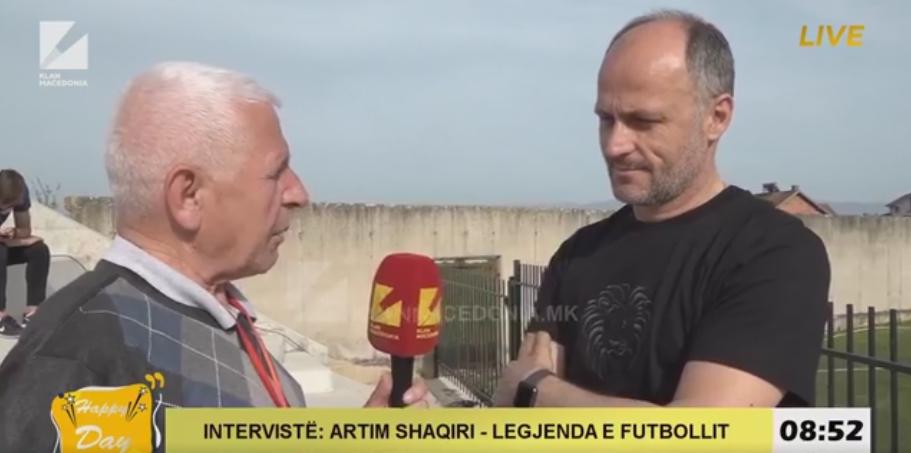 Artim Shaqiri njëri ndër futbollistët e mirënjohur shqiptar në Maqedoni(Video)