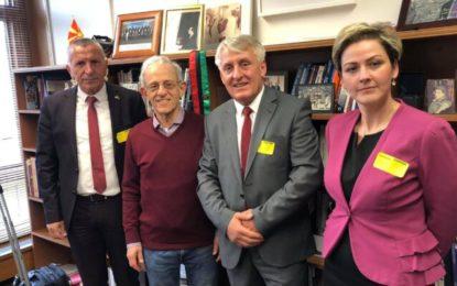 Liderët nga Lugina e Preshevës  takojnë Daniel Server, njohës i mirë i problemeve në Ballkanin perëndimor (FOTO)