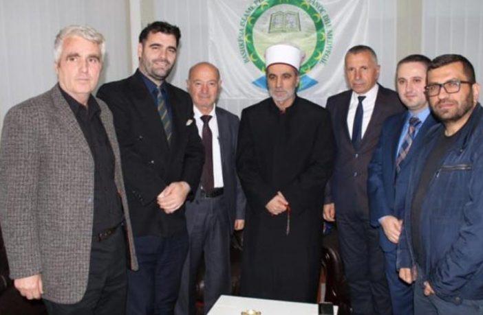Myftiu Saqipi: Me rastin e muajit të shenjtë të Ramazanit priti një delegacion të lartë komunal e shtetëror