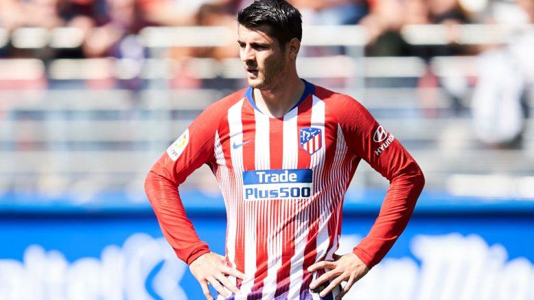 Chelsea kërcënon Atleticon me rikthim të Moratas nga huazimi