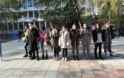 """Në """"Ditën Ndërkombëtare të Vollentarizmit"""" 5 Dhjetori – Mesazh kundër gjuhës së urrejtjes nga rinjët e Komunës së Bujanocit."""